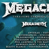 Megacruise (Hosted by Megadeth) Announces Final Lineup With Addition of Lamb of God Photo