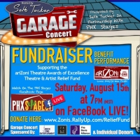 Seth Tucker and PHX Stages Present Garage Concert Fundraiser For AriZoni Relief Fund Photo