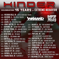 Hinder Announce 'Extreme Behavior' 15th Anniversary Tour Photo