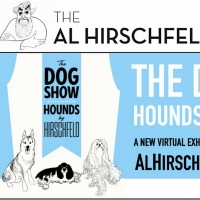 Al Hirschfeld Foundation Presents New Online Exhibition THE DOG SHOW: HOUNDS BY HIRSC Photo