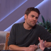 VIDEO: Watch Paul Wesley Interviewed on THE KELLY CLARKSON SHOW Photo