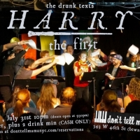 Random Access Theatre Takes A VERY Drunk Text Run At Harry Potter with, HARRY THE FIR Photo