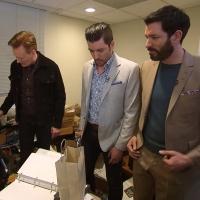 VIDEO: Conan Asks The Property Brothers To Renovate Jordan Schlansky's Office Photo