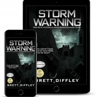 Author Brett Diffley Releases Thriller STORM WARNING Photo