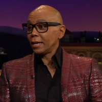 VIDEO: RuPaul Talks MAISEL Wardrobe on THE LATE LATE SHOW Video