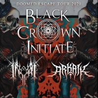 Black Crown Initiate Announces Doomed Escape Tour 2021 Photo