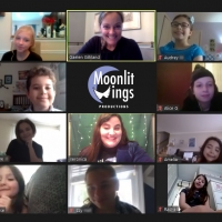Gaelen Gilliland Chats With Moonlit Wings' Young Cast Of THE SHOW MUST GO ONLINE Photo