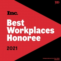 300 Entertainment Named one of INC Magazine's Best Workplaces for 2021 Photo