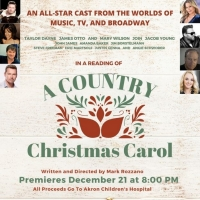 A Country Christmas Carol - Streaming 12/21 To Benefit Akron Children's Hospital Special Offer