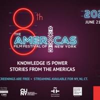 8th Annual The Americas Film Festival New York Virtual Cinema Opens Monday, June 21 Photo