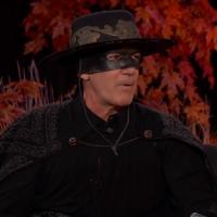 VIDEO: Antonio Banderas Dressed as Zorro for Halloween on JIMMY KIMMEL LIVE