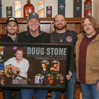 Doug Stone Celebrates 10 Million Albums Sold Worldwide Photo