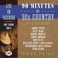 CMT Presents '90 Minutes of '90s Country' Hosted by Collin Raye