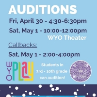 The WYO Performing Arts & Education Center Announces Auditions for FROZEN JR. Photo
