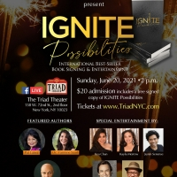 IGNITE POSSIBILITIES Authors Celebrate New York City Re-Opening at The Triad Photo