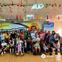 Photo Coverage: DANI GIRL Cast Visits Cancer-stricken Kids; Acclaimed Musical Returns Photo