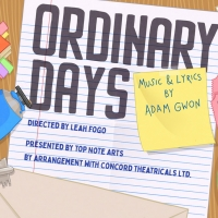 Top Note Arts To Present Virtual Production Of Adam Gwon's Musical ORDINARY DAYS Photo