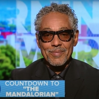 VIDEO: Giancarlo Esposito Talks THE MANDALORIAN on GOOD MORNING AMERICA Photo