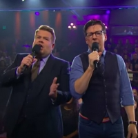 VIDEO: Sean Hayes & James Corden Sing About Not Wanting to Duet!