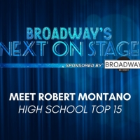 Meet the Next on Stage Top 15 Contestants - Robert Montano Photo