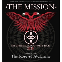 The Mission Announce 'The United European Party Tour' for 2020 Photo