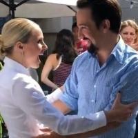 Kristen Bell Goes Full Fangirl Meeting Lin-Manuel Miranda At Comic-Con