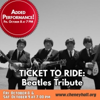 Beatles Tribute TICKET TO RIDE to be Presented at Cheney Hall Photo