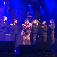 VIDEO: SIX Hits The Stage To Kick Off The Manchester Christmas Lighting Photo