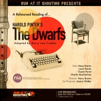 Guest Blog: Harry Burton On A Zoom Production of Harold Pinter's THE DWARFS Photo