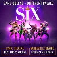 SIX Will Transfer to the Vaudeville Theatre in September Photo
