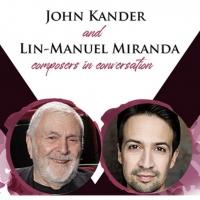 Next Week! John Kander & Lin-Manuel Miranda Photo