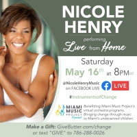 Nicole Henry Virtual Concert Will Benefit The Miami Music Project Online Orchestra Programs
