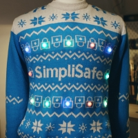 SimpliSafe Launches Tech-Enabled Social Distancing Sweater Photo