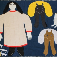 Textile Museum Of Canada and Toronto Biennial Of Art Present Inuit Art Exhibition Photo