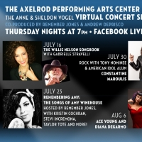 Constantine Maroulis, Ace Young, Diana DeGarmo and More to Take Part in Axelrod PAC's Virtual Summer Concert Series Article