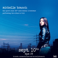 Michelle Branch Announces 'The Spirit Room - 20th Anniversary Livestream' Photo