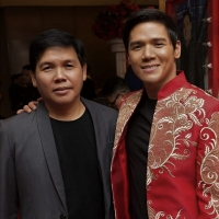 '10 and 10' with Gerald Santos and Composer-Director Rommel Ramilo Photo