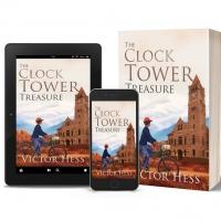 Victor Hess Promotes MG/YA Literary Novel THE CLOCK TOWER TREASURE Photo