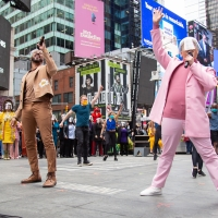 VIDEO: Watch Broadway Reunite in Times Square 1 Year After the Shutdown Photo