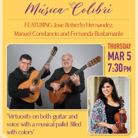 JRH Acoustic Latin Guitar Trio Comes To WYO Theater