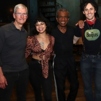 Photo Flash: Apple CEO Tim Cook Goes Way Down To HADESTOWN