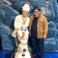 Photo Flash: Original Olaf, Josh Gad, Visits FROZEN on Tour! Photo