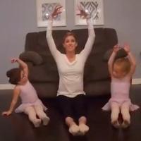 VIDEO: American Ballet Theatre's Sarah Jones Holds Virtual Dance Class For Children Photo