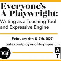 AATE and the Dramatist Guild Foundation Co-Host Playwrighting Symposium With David He Photo
