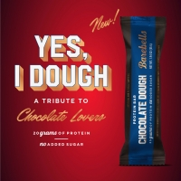 BAREBELLS Launches Chocolate Dough Bar in Time for Valentine's Day Photo