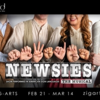 The Ziegfeld Theater Will Present Disney's NEWSIES Done Entirely in Both ASL and Spoken English