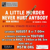 Main Street Theatre Works Presents Virtual Reading of A LITTLE MURDER NEVER HURT ANYBODY, Photo