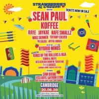 Sean Paul, Koffee to Headline Strawberries & Creem 2020