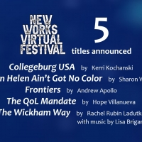 New Works Virtual Festival Announces Final Plays And New Dates Photo