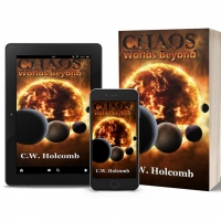 C.W. Holcomb Promotes Epic Fantasy Book CHAOS: WORLDS BEYOND Photo